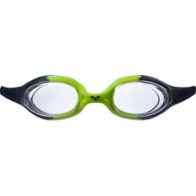 arena Spider Goggles Juniors navy-clear-citronella